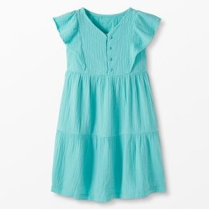 NWT Hanna Andersson Ruffle Twirly Dress